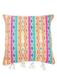 Bivain Berber Hemp Accent Pillow With Tassels