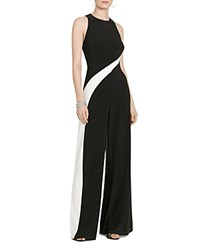 Ralph Lauren Wide Leg Jumpsuit Black White