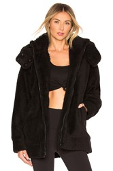 Alo Yoga Norte Faux Sherpa Coat Black