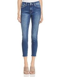 Mavi Jeans Alissa Skinny Ankle In Mid Ripped Vintage