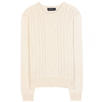 Polo Ralph Lauren Lilli Knitted Wool And Cashmere Sweater Cream