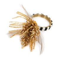 Mackenzie Childs Wheat Napkin Ring