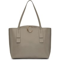 Chloe Grey Medium C Tote