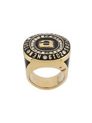 Alexander Wang Oversized Ring Gold