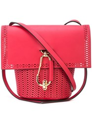 Zac Posen Belay Crossbody Bag Red