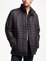 Bugatti Button Up Quilted Field Jacket Blue