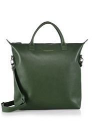 Want Les Essentiels O'hare Soft Leather Shopper Tote Palm Green