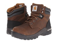 Carhartt 6 Inch Brown Rugged Flex Work Boot Brown Oil Tanned Leather Women's Work Boots