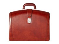 Bosca Old Leather Collection Partners Brief Cognac Leather Briefcase Bags Brown