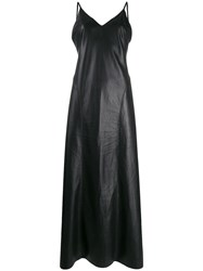 Nanushka Maxi Slip Dress Black