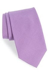Southern Tide Dapper Dots Cotton And Silk Tie Lilac