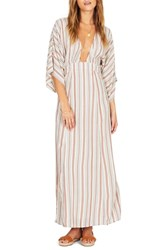 Amuse Society Forever And Day Stripe Maxi Dress Sand
