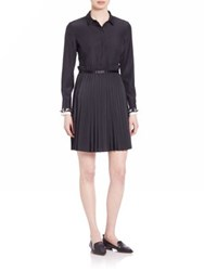 Mother Of Pearl Hurley Shirt Dress Black