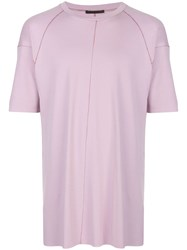 The Viridi Anne Stitch Detail Round Neck T Shirt 60