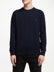 Joules Earl Crew Neck Jumper French Navy