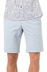 7 Diamonds Men's Slim Fit Brushed Twill Shorts Slate Grey