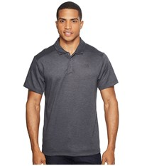 The North Face Short Sleeve Crag Polo Tnf Dark Grey Heather Men's Short Sleeve Knit Gray