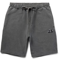 Cav Empt Overdyed Cotton Jersey Shorts Gray