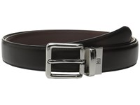 Lauren Ralph Lauren Reversible Dress Belt Black Brown Men's Belts