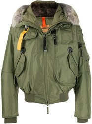 Parajumpers Hooded Bomber Jacket Green