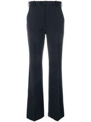 Joseph Tailored Flared Trousers Blue