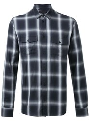Iro Checked Shirt Black