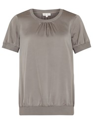 Reiss Kathryn Short Sleeved Top Bamboo