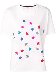 Paul Smith Ps By 'Stars' T Shirt White