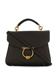 Salvatore Ferragamo Margot Tote Bag Brown