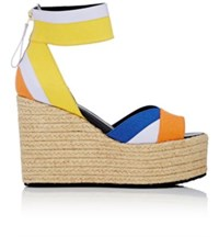 Pierre Hardy Women's Bauhaus Beach Platform Wedge Sandals No Color