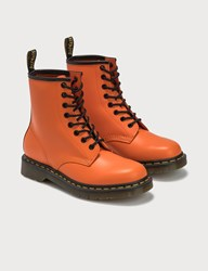 Dr. Martens 1460 Smooth Leather Boots Orange