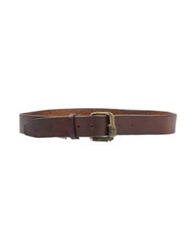 Ermanno Scervino Scervino Street Belts Dark Brown