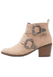 Dorothy Perkins Zack Ankle Boots Light Brown Tan