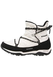 Columbia Loveland Omniheat Winter Boots Sea Salt Black White