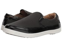 Deer Stags Harrison Black Simulated Leather Slip On Shoes