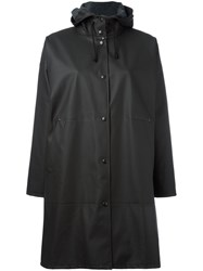 Stutterheim Solna Raincoat Black