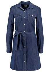 Gap Denim Dress Rinsed Blue Denim