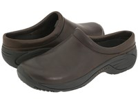 Merrell Encore Gust Smooth Bug Brown Leather Slip On Shoes