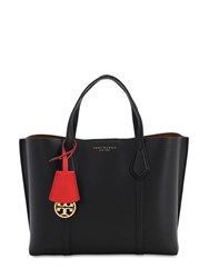 Tory Burch Small Perry Leather Tote Bag Black