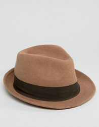 Esprit Trilby In Felt Brown