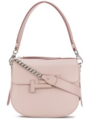 Tod's Double T Crossbody Bag Pink