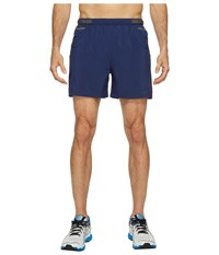 Asics Distance 5 Shorts Indigo Blue Men's Shorts