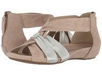 Sora Earthies Taupe Soft Buck Women's Shoes Brown