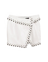 Pixie Market Karmen Studded Wrap Skirt