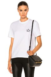 Givenchy Star Tee In White