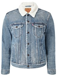 Levi's Sherpa Trucker Denim Jacket Buckman