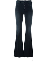 Hudson High Waist Flared Jeans Black