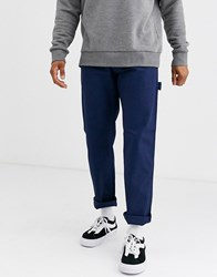 Dickies Fairdale Carpenter Trouser In Blue