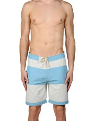Lightning Bolt Swim Trunks Sky Blue
