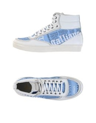 Galliano High Tops And Trainers Azure